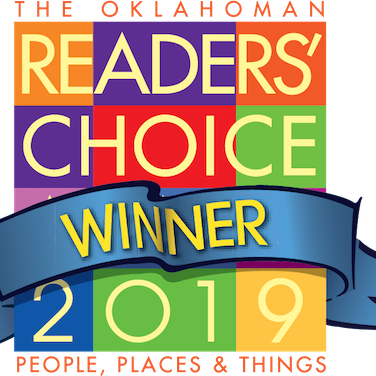 The Oklahoma Reader's Choice Winner 2018