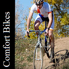 Come see our selection of comfort bicycles!