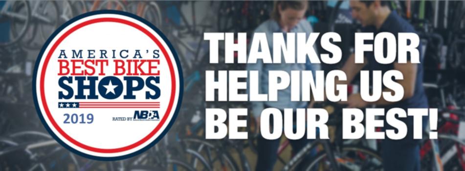 Voted one of America's Best Bike Shops