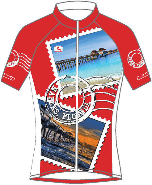 Giordana Naples Stamp Jersey Men's