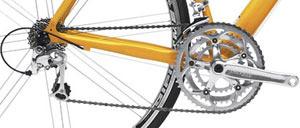 A clean bicycle drivetrain is a happy drivetrain!