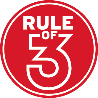 Rule of 3 logo and link