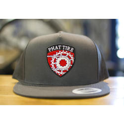 Phat Tire Bike Shop Embroidered badge hat