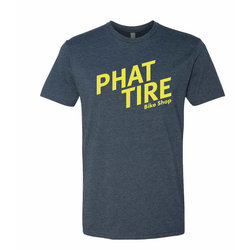 Phat Tire Bike Shop Phat Tire Slant Tee