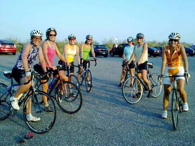 Cycling is the fun way to health, happiness and fitness!