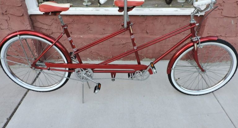 Sears Tandem Restoration after