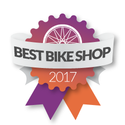 Voted - Best Bike Shop 2017!