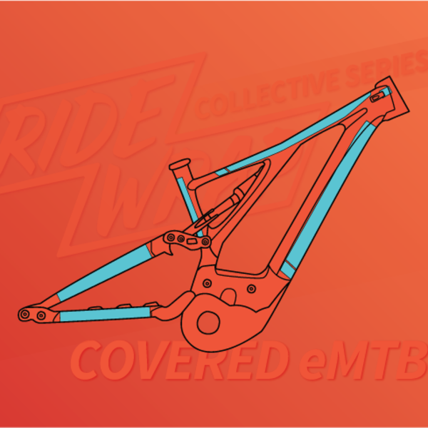 Ridewrap Covered Frame Protection- E-bike