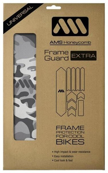 All Mountain Style Frame Guard White/Camo Extra