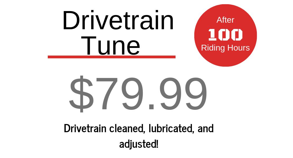 Drivetrain Tune - $79.99