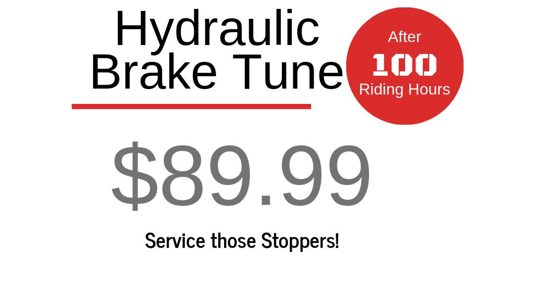 Hydraulic Brake Tune - $89.99