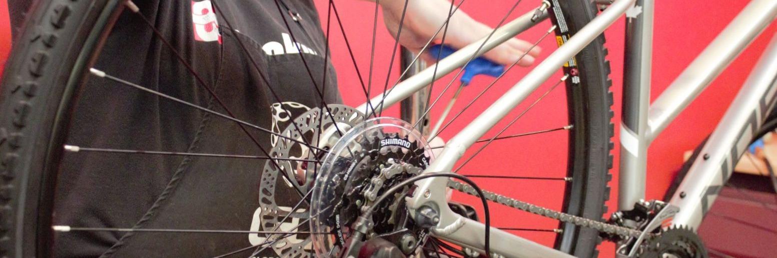 Bike Repair at Cranky's