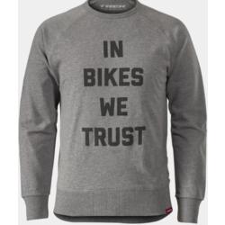 Trek In Bikes We Trust Crewneck Sweatshirt