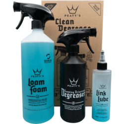 Peaty's Clean Degrease and Lube Starter Pack