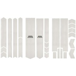 All Mountain Style Frame Guard Clear/Silver Total