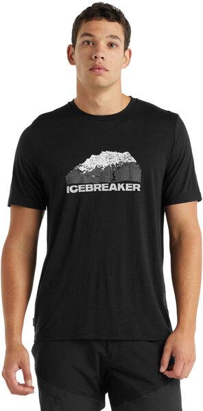Icebreaker Tech Lite Mountain Short Sleeve Crew - Men's