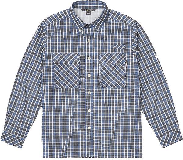 Exofficio Air Strip Check Plaid Long Sleeve Shirt - Men's