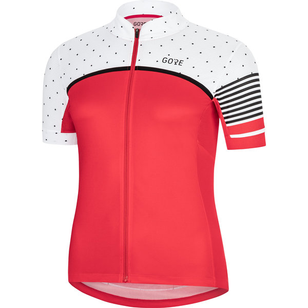 Gore Wear C7 Jersey - Women's Color: Hibiscus Pink/White