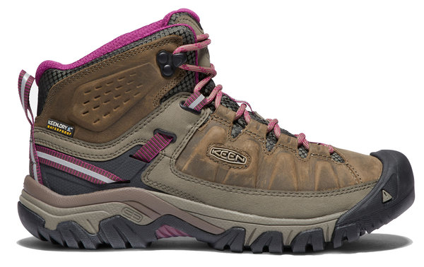 Keen Targhee III Waterproof Mid - Women's Color: Weiss/Boysenberry