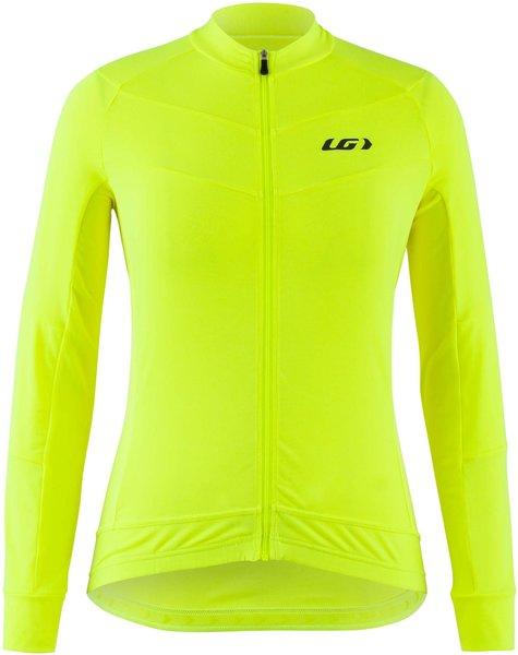 Garneau Beeze LS Cycling Jersey - Women's Color: Bright Yellow