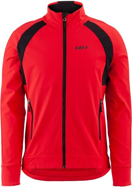 Garneau Dualistic Jacket - Men's Color: Red/Black