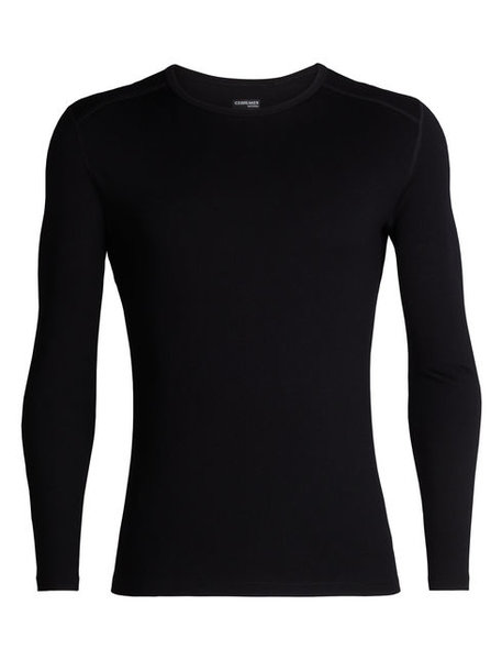 Icebreaker 260 Tech Long Sleeve Crewe - Men's Color: Black