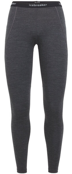Icebreaker Zone 260 Leggings - Women's Color: Jet Heather/Black