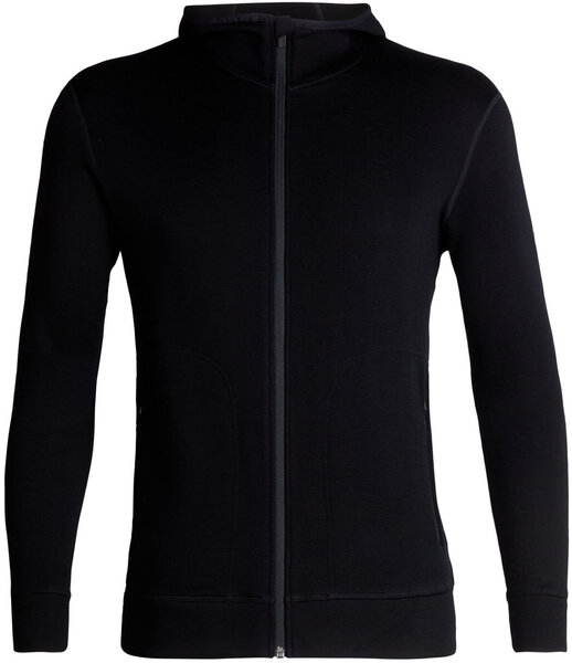 Icebreaker Elemental 330 Long Sleeve Zip Hood Jacket - Men's