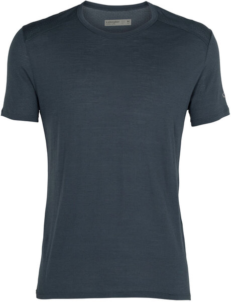 Icebreaker Amplify S/S Crewe - Men's Color: Serene Blue