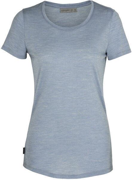 Icebreaker Sphere S/S Crewe Tee - Women's Color: Gravel Heather