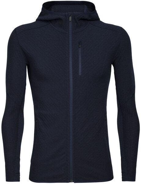 Icebreaker Descender Long Sleeve Zip Hood - Men's