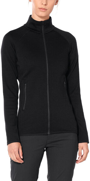 Icebreaker Elemental 330 Long Sleeve Zip Jacket - Women's