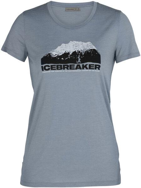 Icebreaker Tech Lite Short Sleeve Crewe Icebreaker Mountain - Women's