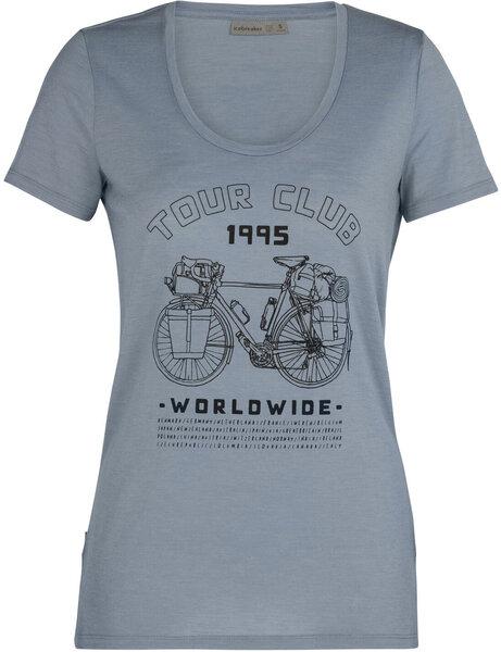 Icebreaker Tech Lite S/S Scoop Tour Club 1995 Tee - Women's