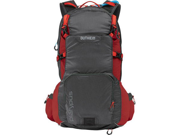 Platypus Duthie AM 15.0L Hydration Pack Color: Red Alloy
