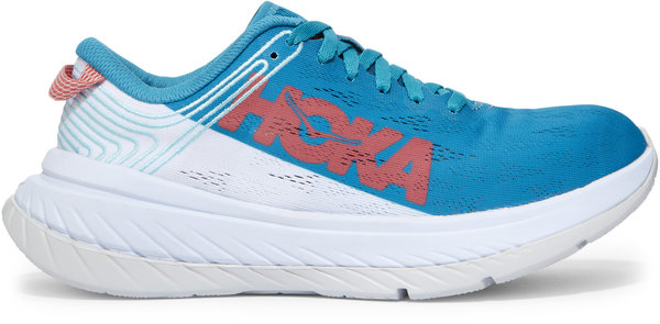 Hoka One One Carbon X - Women's Color: Caribbean Sea / White