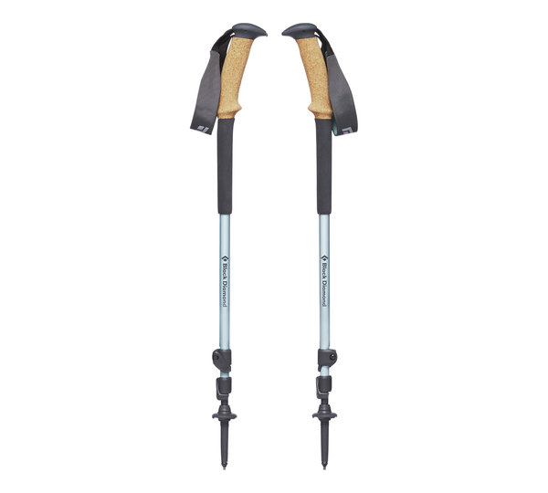 Black Diamond Trail Ergo Cork Trekking Poles - Women's Color: Alpine Lake