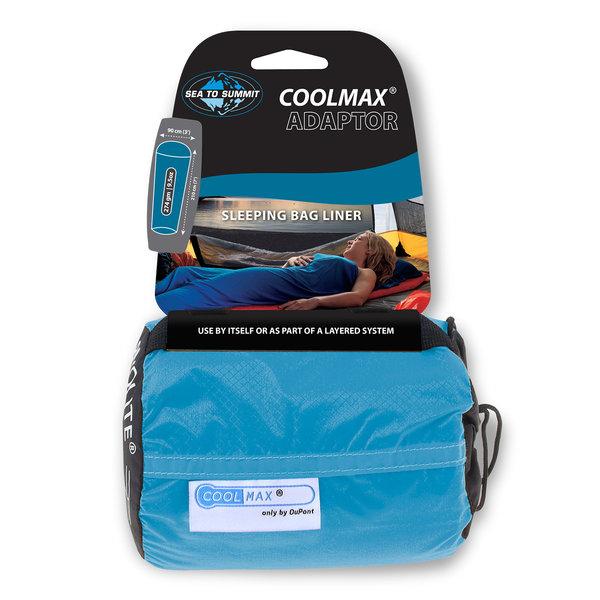 Sea to Summit Adaptor Coolmax Sleeping Bag Liner - Mummy