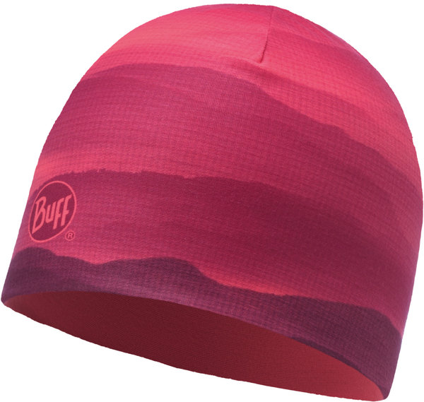 Buff Microfiber Reversible Hat Color: SOFT HILLS PINK FLUOR