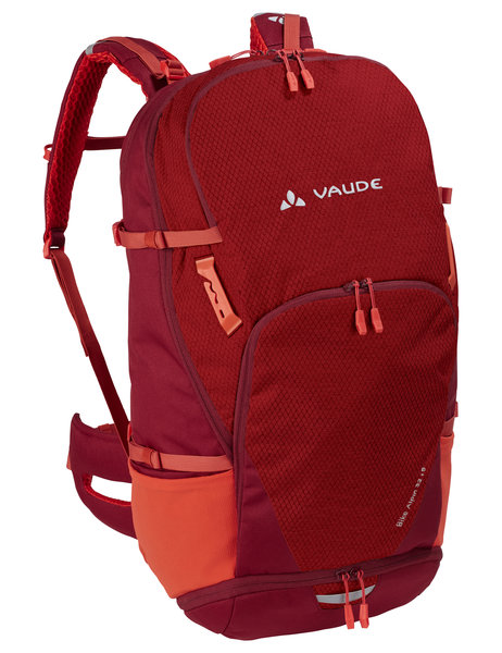 Vaude Bike Alpine 32+5 Cycling Pack Color: Salsa