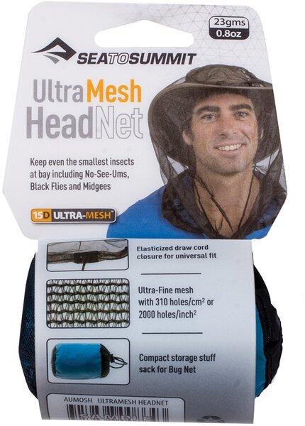 Sea to Summit Ultra-Fine Mesh Mosquito Head Net