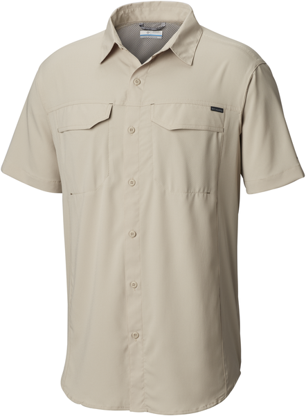 Columbia Silver Ridge Lite Short Sleeve Shirt - Men's Color: Fossil