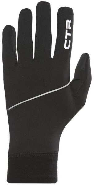 CTR Mistral Glove Liner Color: Black/Silver