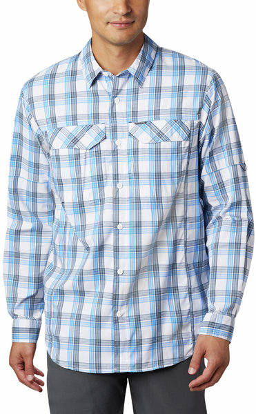 Columbia Silver Ridge Lite Plaid™ Long Sleeve Shirt - Men's