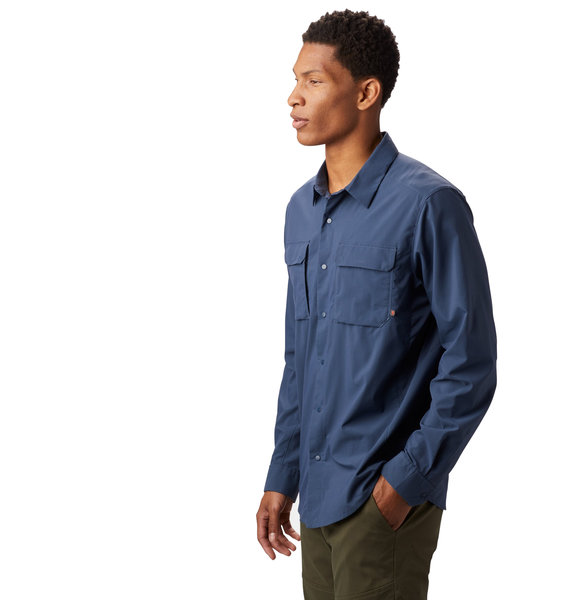 Mountain Hardwear Canyon Pro Long Sleeve Shirt - Men's Color: Zinc