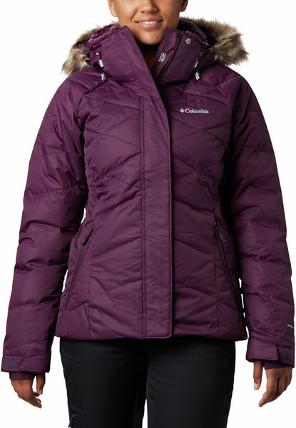 Columbia Lay D Down II Jacket - Women's Color: Black Cherry