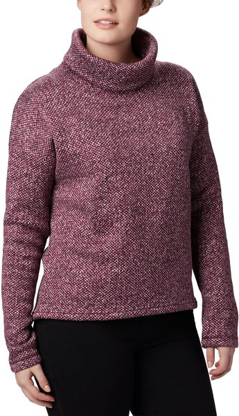 Columbia Chillin Fleece Pullover - Women's Color: Black Cherry