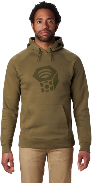 Mountain Hardwear Hardwear Logo Pullover Hoody - Men's Color: Combat Green