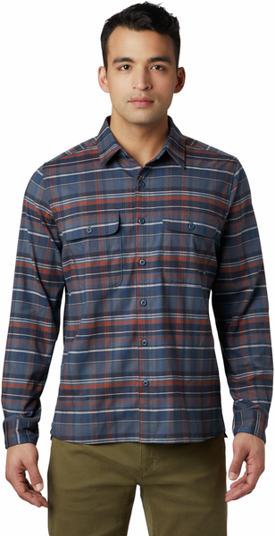 Mountain Hardwear Voyager One Long Sleeve Shirt - Men's Color: Graphite