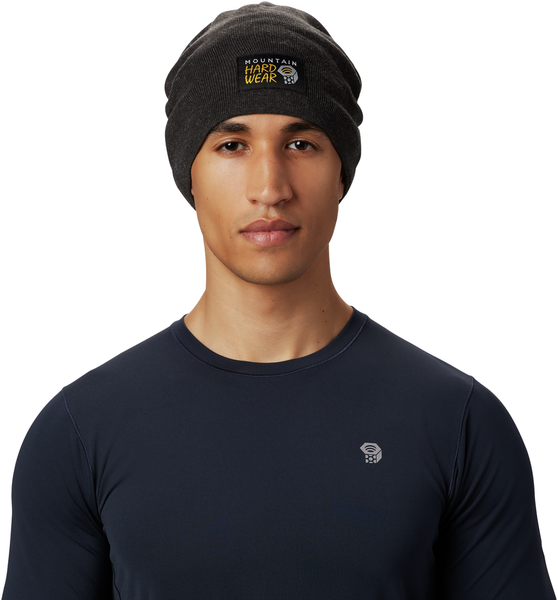 Mountain Hardwear MHW Logo Beanie Color: Void